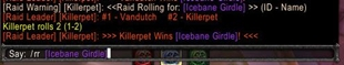 wow addon Raid Roll (With EPGP support, roll tracker and loot tracker)