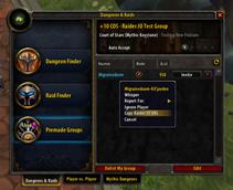 Raider.IO Mythic Plus and Raid Progress