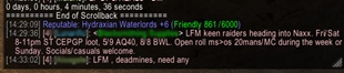 wow addon Reputable