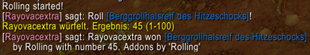 wow addon Rolling Manager