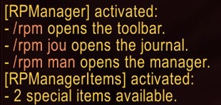 wow addon RPManagerItems