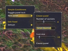 wow addon Simple Cooldowns