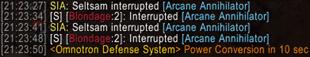Simple Interrupt Announce