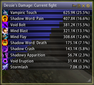 wow addon Skada Damage Meter