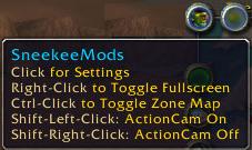 SneekeeMods: Maps, FPS Monitor, Sell Junk/Trash, Cam