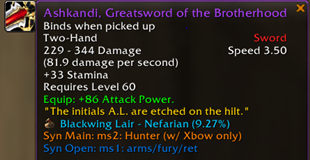 wow addon Syndicate Loot Priority
