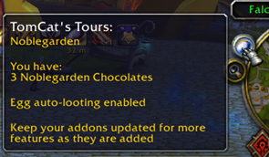 TomCat's Tours: Noblegarden [ADDON MOVED — see description]