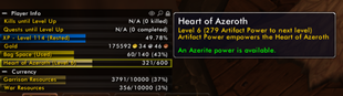 wow addon Track-O-Matic [Heart of Azeroth]