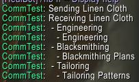 Trade Skill Reagents