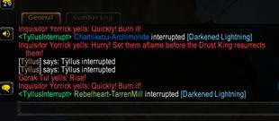 wow addon Tyllus' Interrupt
