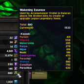 wow addon Wakening Essence Tracker