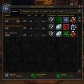 wow addon War Campaigns Complete