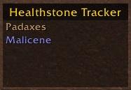 Warlock Healthstone Tracker