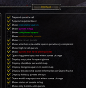 wow addon Wholly