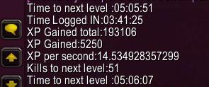 wow addon XP Timer and Gold Tracker